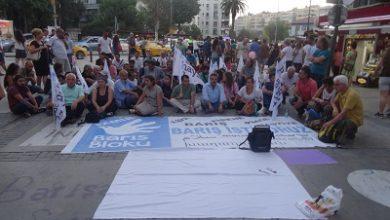 İzmirden barış nöbeti