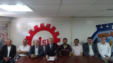 Barış mitingi öncesi İzmirde basın toplantısı