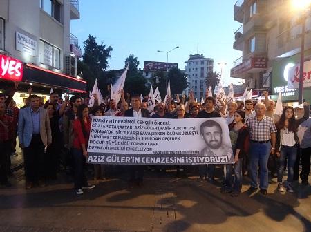 İzmir Barış Bloku eylemi