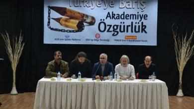 İzmir Emek ve demokrasi güçleri akademisyenlere destek