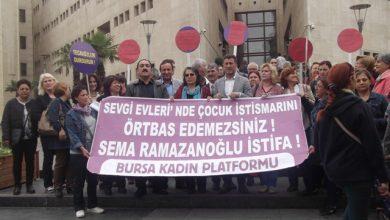 Bursada basın açıklaması taciz tecavüz vakası
