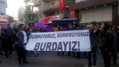 İzmir basın açıklaması