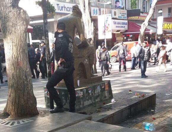 yuksele polis saldirisi