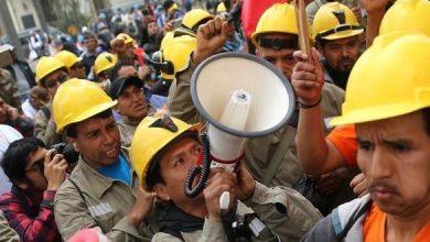 kolombiyali madenciler grevde