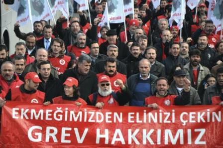 Metal işçilerinin grevi yasaklandı